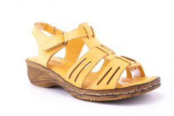 SANDALE DAMA GREEN FOOT PIELE NATURALA DE VITEL MIRA 803 /GLB